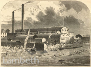 PRICE'S CANDLE FACTORY AND RIVER EFFRA, VAUXHALL