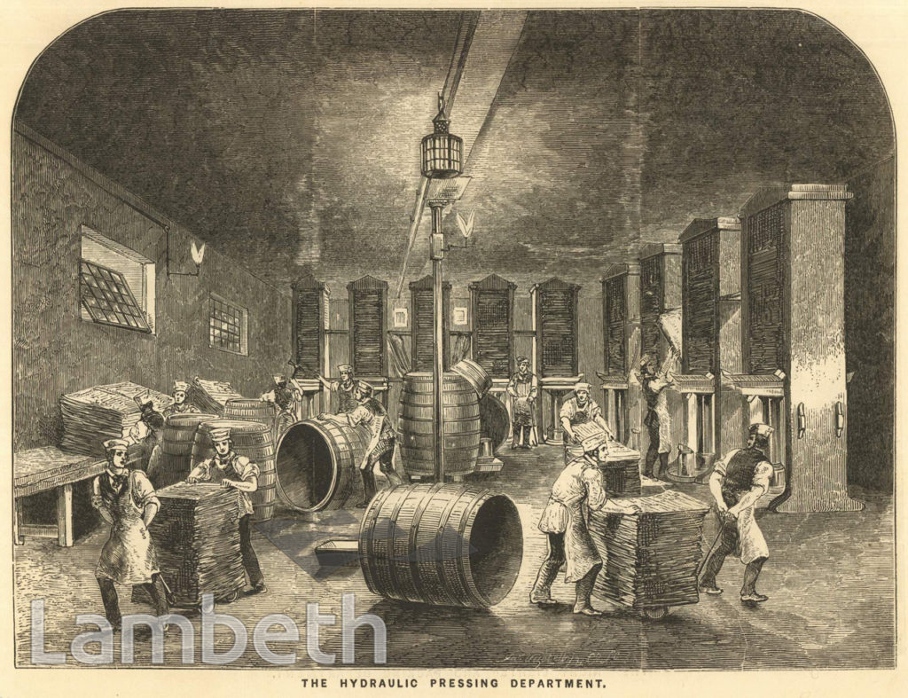 PRESSING DEPARTMENT, PRICE'S CANDLE FACTORY, VAUXHALL