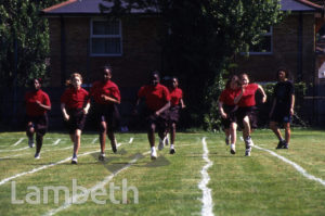 ATHLETICS, ST MARTIN'S-IN-THE-FIELDS SCHOOL, TULSE HILL