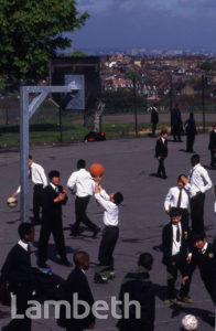 BISHOP THOMAS GRANT SCHOOL, BELLTREES GROVE, STREATHAM