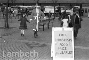 FATHER CHRISTMAS, LAMBETH WALK, LAMBETH
