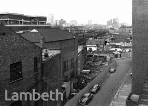 RAVENT ROAD FROM SUGDEN HOUSE, LAMBETH WALK, LAMBETH