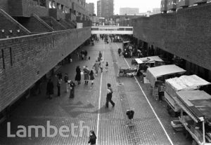 SHOPPING PRECINCT, LAMBETH WALK