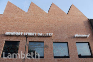 NEWPORT STREET GALLERY, LAMBETH