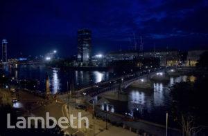 FILM SHOOT: JAMES BOND MOVIE SPECTRE, RIVER THAMES, LAMBETH