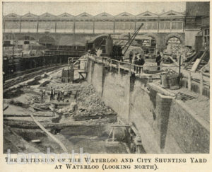 WATERLOO & CITY LINE EXTENSION, SPUR ROAD, WATERLOO