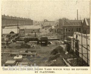 NEW GOODS YARD EXTENSION SITE, WATERLOO STATION