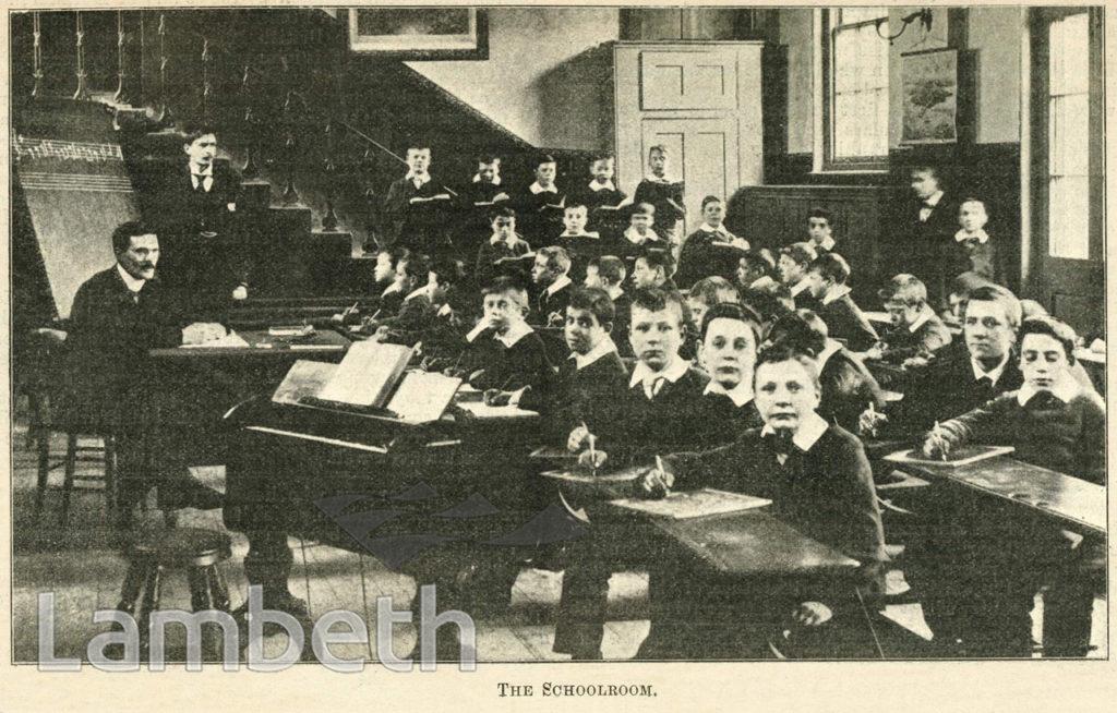 CLASSROOM, CARTER'S BOYS' SCHOOL, 49 CLAPHAM HIGH STREET