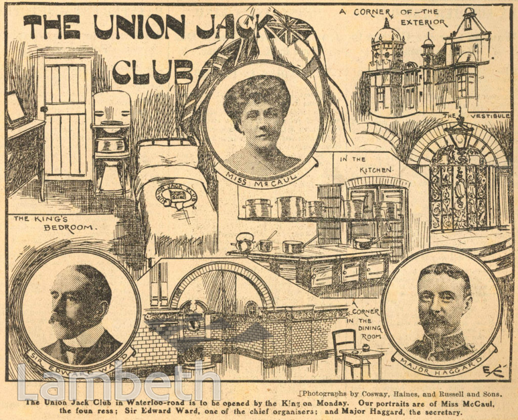 UNION JACK CLUB, WATERLOO ROAD