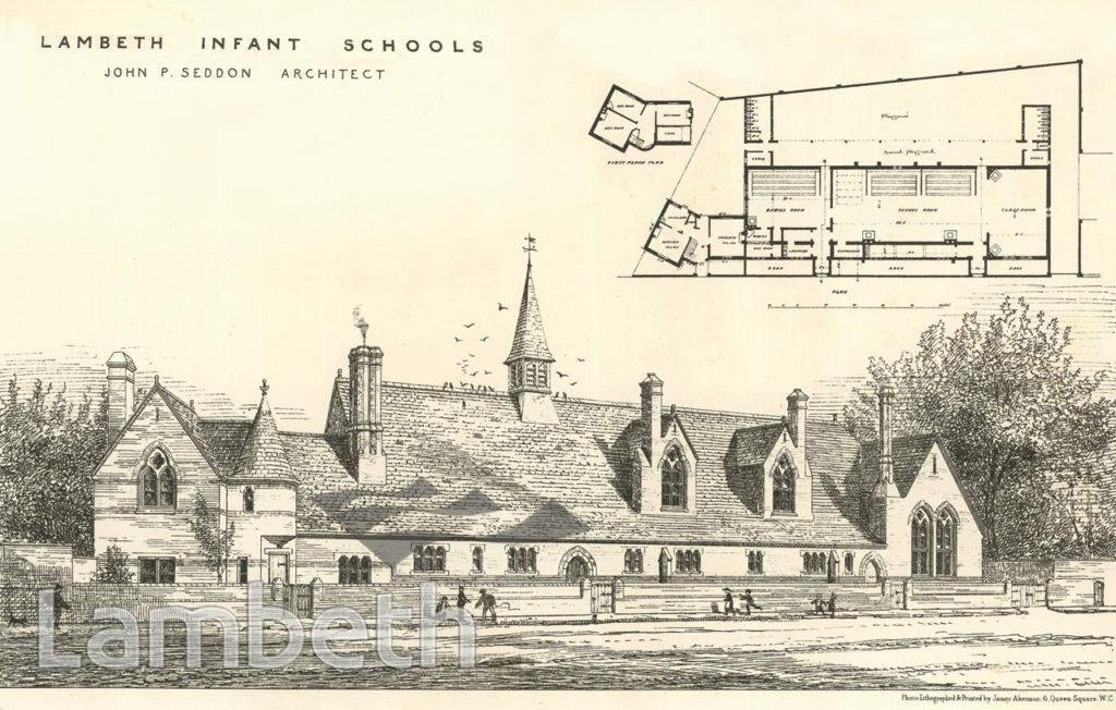 ST MARY'S INFANT SCHOOL, LAMBETH ROAD, LAMBETH