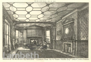 MUSIC ROOM, ELMHURST, CAVENDISH ROAD, CLAPHAM PARK