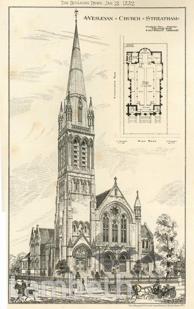STREATHAM METHODIST CHURCH, STREATHAM HIGH ROAD