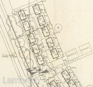 EMERGENCY PREFAB HOUSING, ELDER ROAD, UPPER NORWOOD