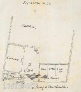 STABLES, GARDEN LANE, REAR OF No.15, STREATHAM HILL