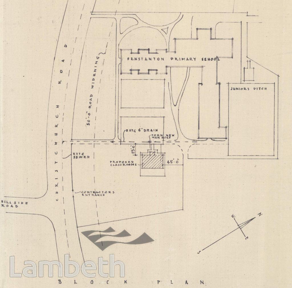 FENSTANTON PRIMARY SCHOOL, CHRISTCHURCH ROAD, TULSE HILL