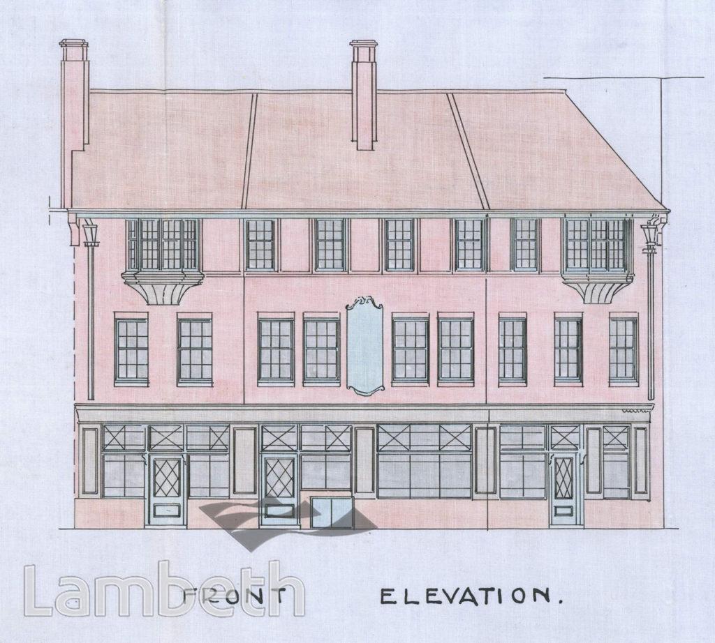 BELLE VIEW PUBLIC HOUSE, No.1 CLAPHAM COMMON SOUTH SIDE