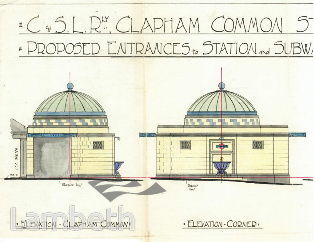 CLAPHAM COMMON UNDERGROUND STATION, CLAPHAM