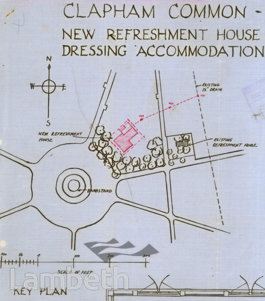 REFRESHMENT HOUSE & DRESSING ROOMS, CLAPHAM COMMON