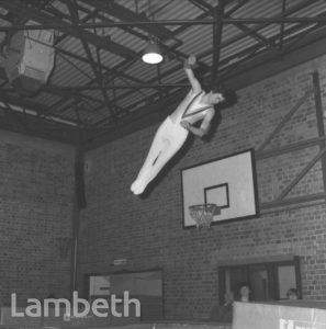 TERRY SHIELDS, FLAXMAN SPORTS CENTRE, LOUGHBOROUGH JUNCTION