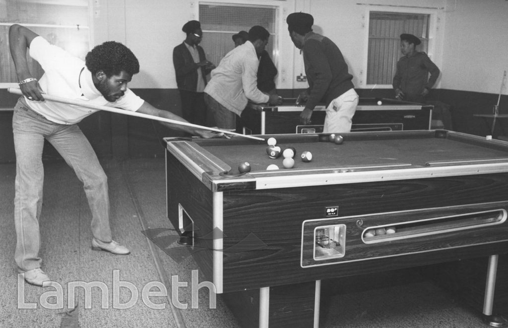 POOL TABLES, FLAXMAN SPORTS CENTRE, LOUGHBOROUGH JUNCTION