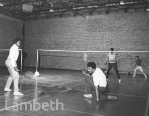 BADMINTON, FLAXMAN SPORTS CENTRE, LOUGHBOROUGH JUNCTION