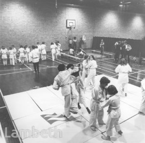 JUDO, FLAXMAN SPORTS CENTRE, LOUGHBOROUGH JUNCTION