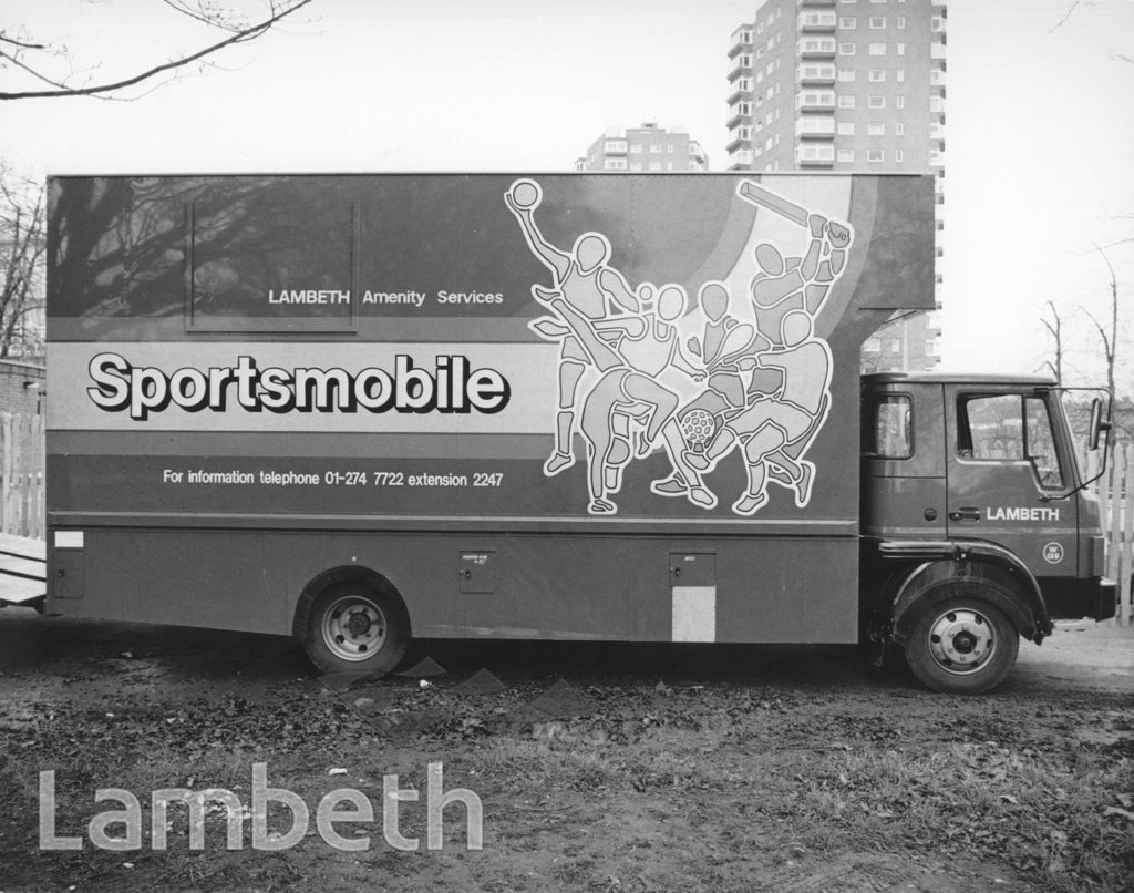 LAMBETH AMENITY SERVICES SPORTSMOBILE