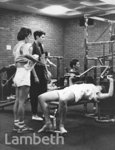WOMEN'S WEIGHT-LIFTING SESSION, BRISTON RECREATION CENTRE