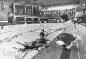 SWIMMING SESSION, BRIXTON RECREATION CENTRE