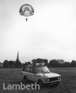 PARACHUTING, BROCKWELL PARK