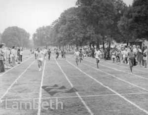 ALTHLETICS RACE, BROCKWELL PARK