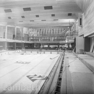 SWIMMING POOL CONSTRUCTION, BRIXTON RECREATION CENTRE