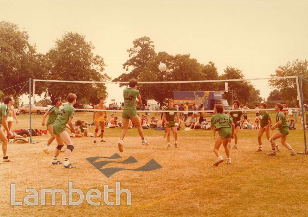 VOLLEYBALL, FESTIVAL OF SPORTS, BROCKWELL PARK
