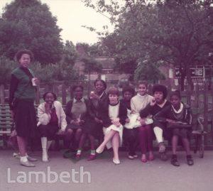 TEENAGE GIRLS, VAUXHALL PARK, VAUXHALL