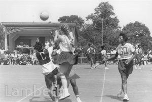 NETBALL, BROCKWELL PARK, HERNE HILL