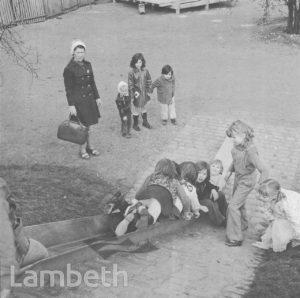 CHILDREN'S PLAY GROUP, LOUGHBOROUGH PARK