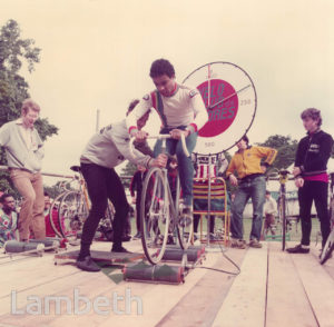 CYCLING TRIAL, COUNTRY SHOW, BROCKWELL PARK, HERNE HILL