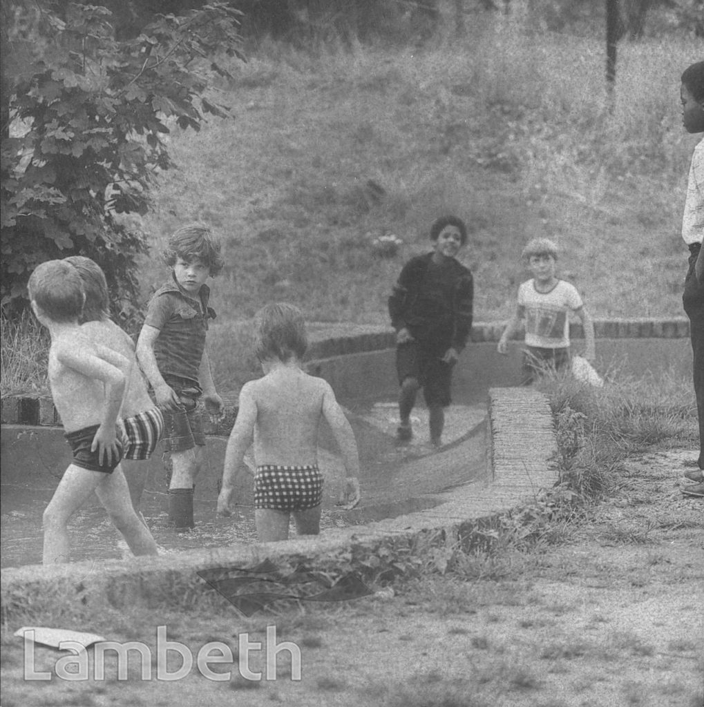BOYS AT PLAY, LOUGHBOROUGH PARK, LOUGHBOROUGH JUNCTION