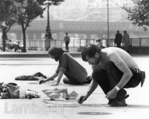 PAVEMENT ARTISTS, SOUTH BANK, WATERLOO