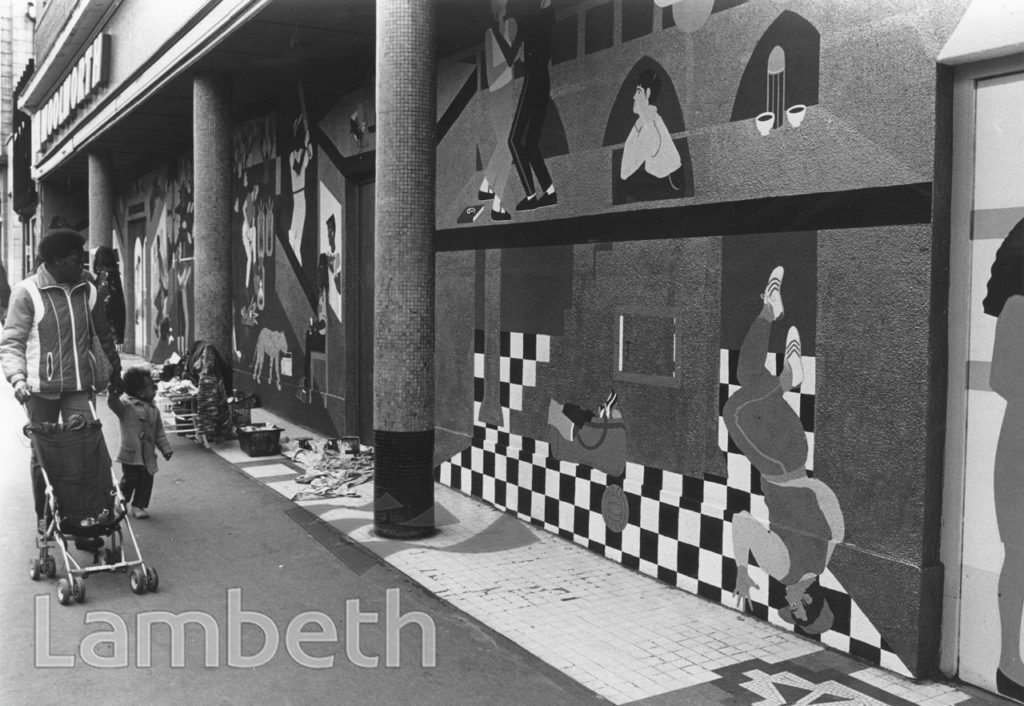 WOOLWORTHS MURAL, ELECTRIC LANE, BRIXTON