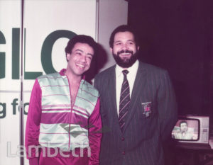 PAUL BOATENG & JUDO CHAMPION, BRIXTON LEISURE CENTRE
