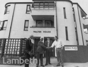 WALTER SISULU & MAYOR, SISULU PLACE, BRIXTON