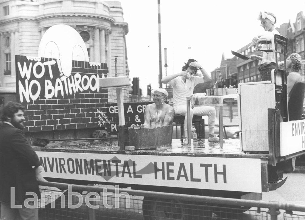 ENVIRONMENTAL HEALTH, LAMBETH PAGEANT, BRIXTON ROAD