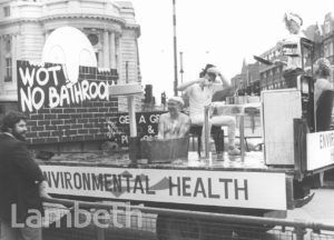 ENVIRONMENTAL HEALTH, LAMBETH PAGEANT, BRIXTON ROAD