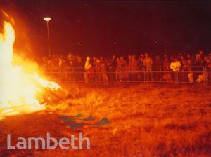 GUY FAWKES BONFIRE NIGHT, BROCKWELL PARK