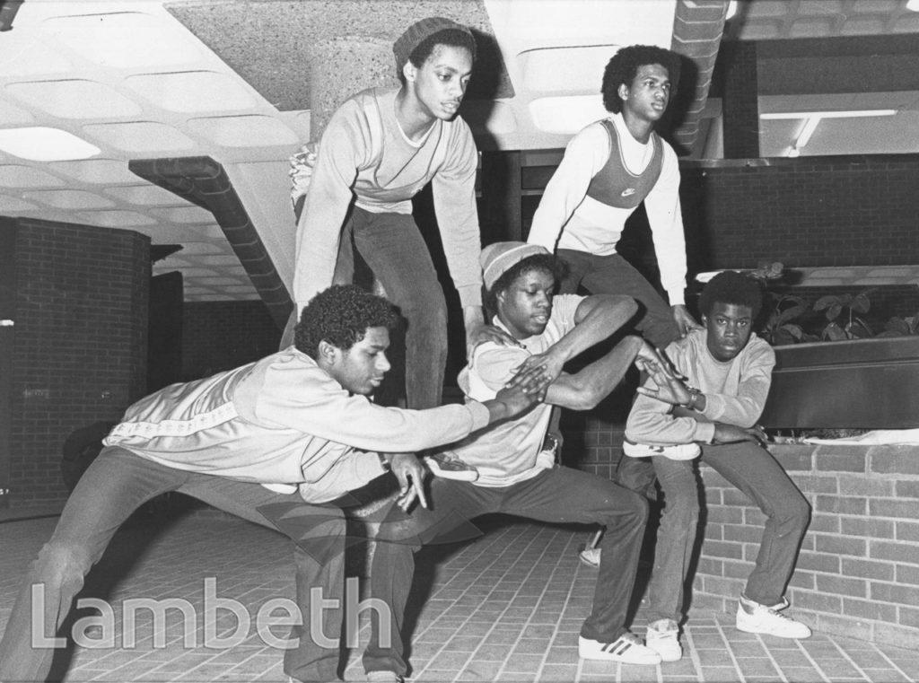 DANCE PERFORMANCE, BRIXTON RECREATION CENTRE