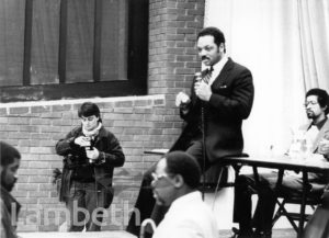 REV. JESSE JACKSON, BRIXTON RECREATION CENTRE