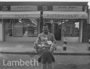 SHOPKEEPER, 25 WILCOX ROAD, SOUTH LAMBETH