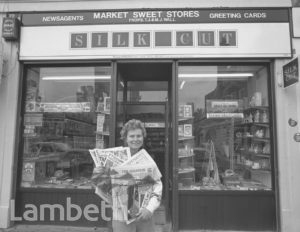 NEWSAGENTS, 22 WILCOX ROAD, SOUTH LAMBETH