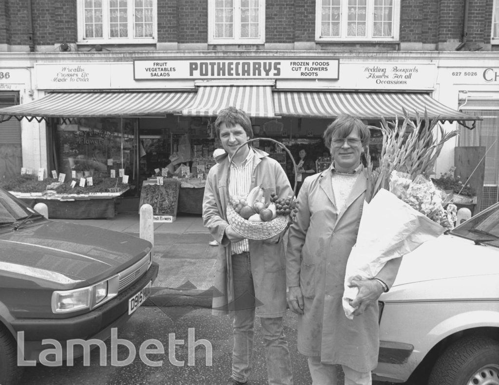 GREENGROCERS, WILCOX ROAD, SOUTH LAMBETH